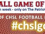 Football – CHSL Game of the Week