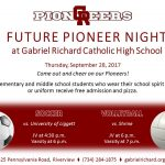 2017 Future Pioneer Night