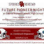 2017 Future Pioneer Night!!!