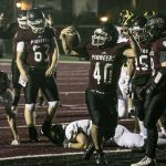 Football Cruises over Lutheran North