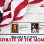 And the Zeal Credit Union September Athlete of the Month is…