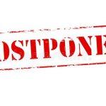 "2020 Winter/Spring Sports Season ""Postponed"""