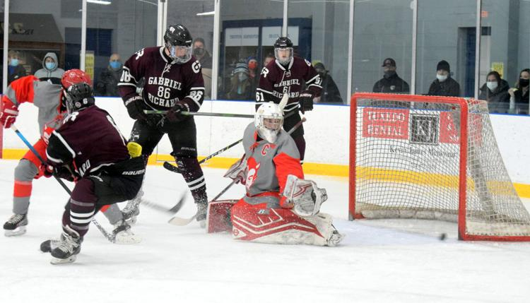 Hockey Tops Woodhaven 5-0 and Ties Grosse Ile 2-2