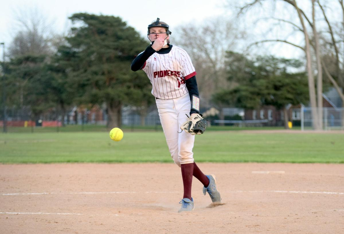 Softball Sweeps Divine Child