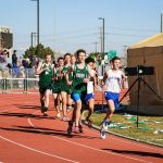 PHS Track Competes at the UVU Track Meet 4-2-16