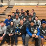 Bulldog Wrestlers Take Second at Hunter Duels