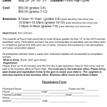Youth Boys Basketball Camp Set for May 28-31