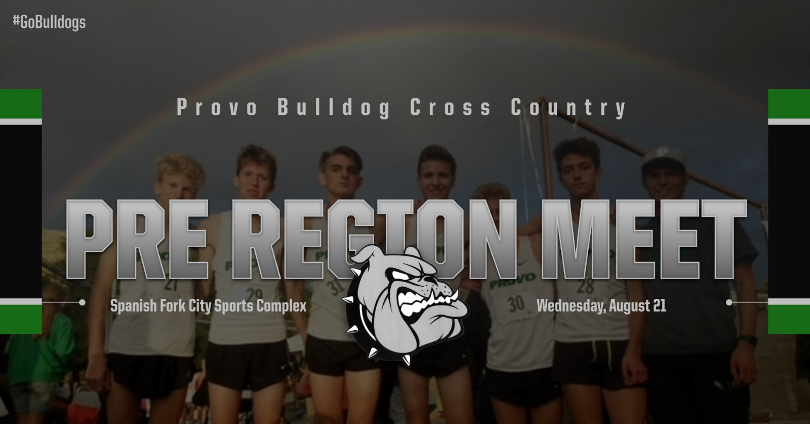 Cross Country Pre-Region Meet at Spanish Fork Today