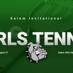Girls Tennis Compete in the Salem Invitational