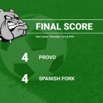 Girls Soccer Draws with Spanish Fork 4-4
