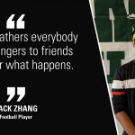 Thoughts on Football from Jack Zhang, Chinese Exchange Student