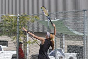 Girls Tennis vs Park City
