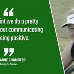 Bulldog Highlight: Marianne Chambers – Tennis
