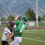 Freshman Football vs Wasatch Photo Gallery