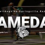 Gameday: Football @ Springville 7 p.m.