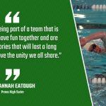 Bulldog Highlight: Savannah Eatough – Swimming