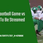 Tonight's Football Game Live Stream Information