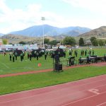 Bulldog Marching Band at Nebo Tournament of Bands
