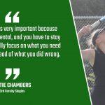Bulldog Highlight: Katie Chambers – Tennis