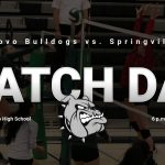 Match Day: Volleyball vs Springville 6 p.m.