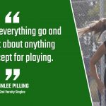 Bulldog Highlight: Kinlee Pilling – Tennis