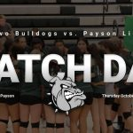 Match Day: Volleyball @ Payson 6 p.m.