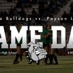 Game Day: Girls Soccer @ Payson 4 p.m.
