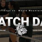 Match Day: Volleyball vs Maple Mountain 6 p.m.