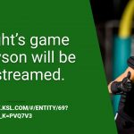 Tonight's Game to be Live Streamed