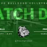 Match Day: Volleyball vs Salem Hills 6 p.m.