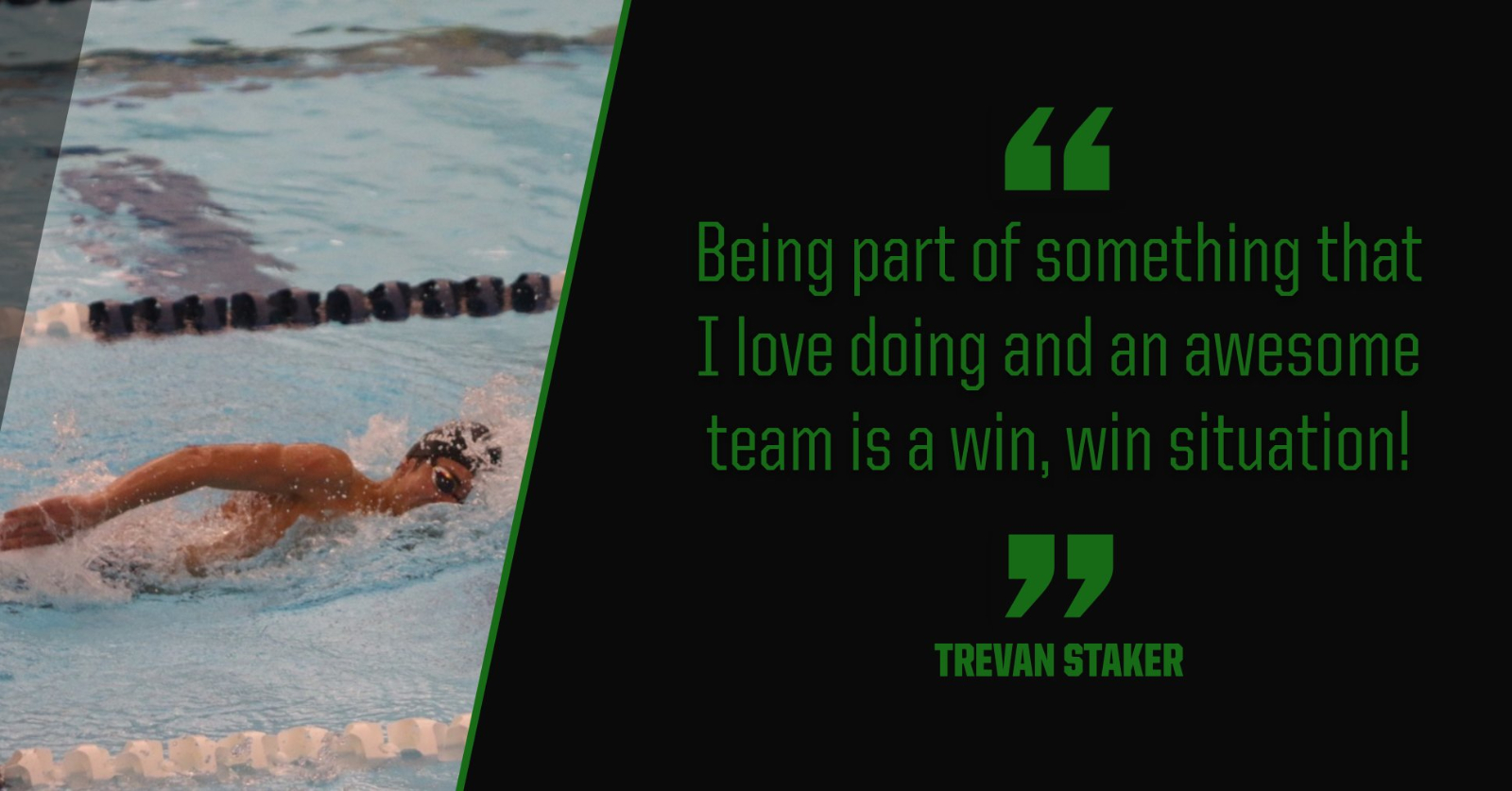 Bulldog Highlight: Trevan Staker – Swim