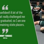 Bulldog Highlight: James Tomasi – Wrestling