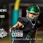 Mason Cobb Awarded 5A Defensive Player of the Year