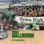 Provo High Ballroom State Champions!
