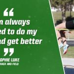 Bulldog Highlight: Sophie Luke – Track and Field
