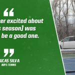Bulldog Highlight: Lucas Silva – Boys Tennis