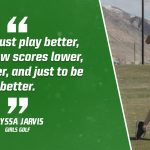 Bulldog Highlight: Alyssa Jarvis-Girls Golf