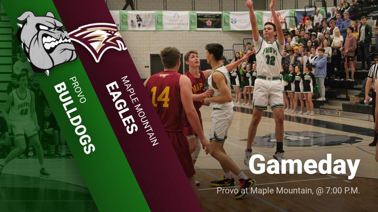 Gameday: Boys Basketball at Maple Mountain; 7:00 P.M.