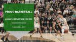 Gameday: Boys Basketball @ Maple Mountain 7 pm