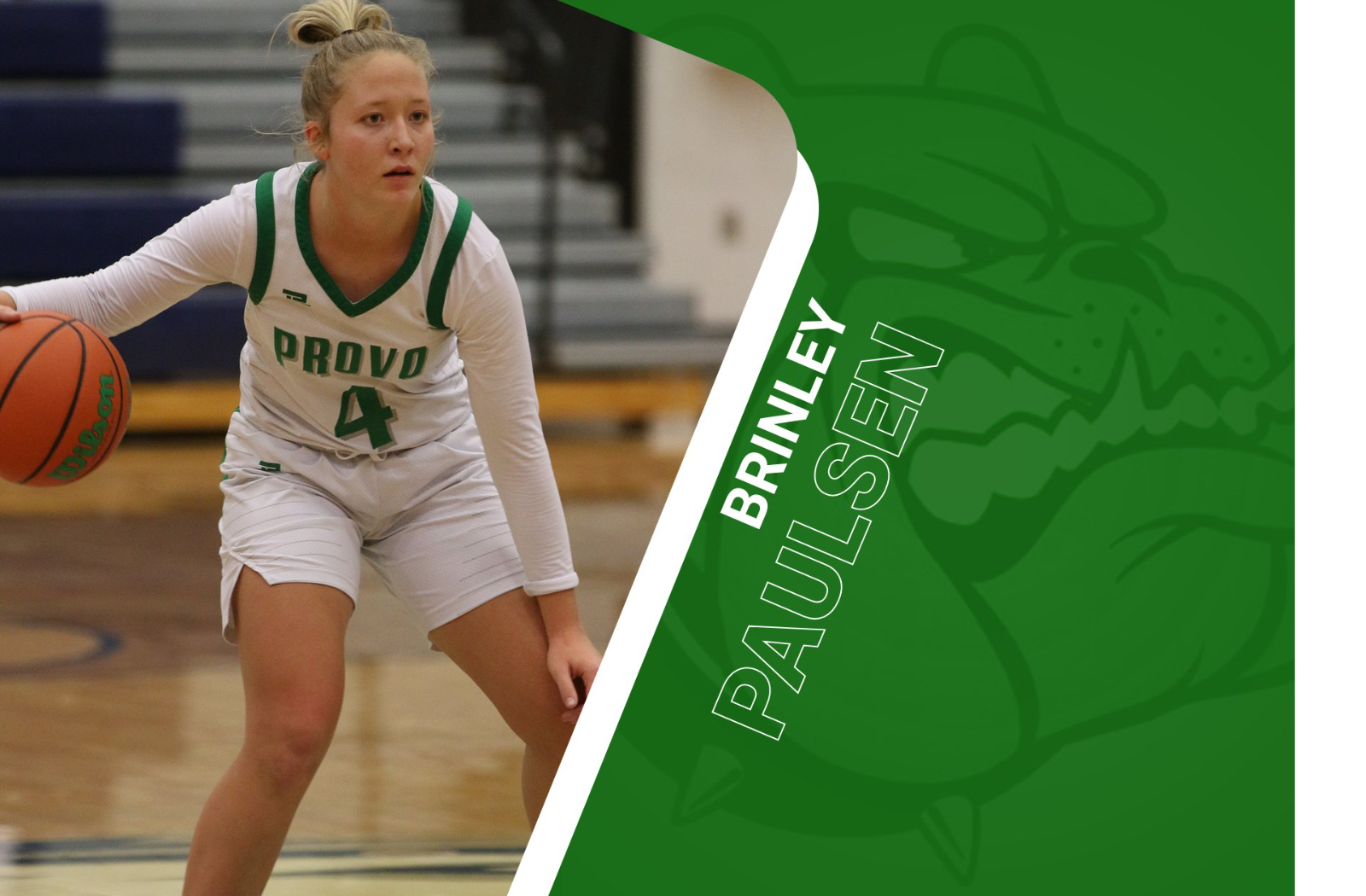 Bulldog Highlight: Brinley Paulsen – Girls Basketball