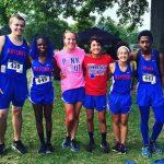 Ravenna High School Coed Varsity Cross Country scores 0 points at meet
