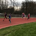 Girls Track vs. Norton and Woodridge