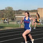 Girls Track vs. Streetsboro (W) and Cloverleaf (L)