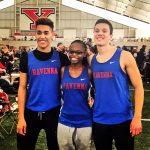 Indoor Track Competes at Youngstown State University