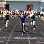 Girls Track finishes 5th at PTC Championships, Azsah Bradley wins 3 Individual Events