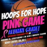 Saturday, Feb 9, 2019 Lady Ravens Alumni/Pink Game