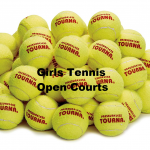 Girls Tennis Summer Open Courts