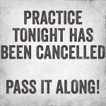 RHS/BMS~ Volleyball Open Gym Canceled Today 7/18/19