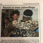 National Guard Uniforms – Ravens vs Rockets 9/27 – Military/First Responder Night