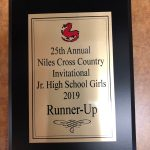 Congratulations To Our Girls Middle School Cross Country Team! Runner-Up @ Niles Invt